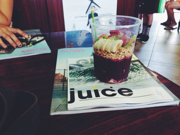 acai bowl california