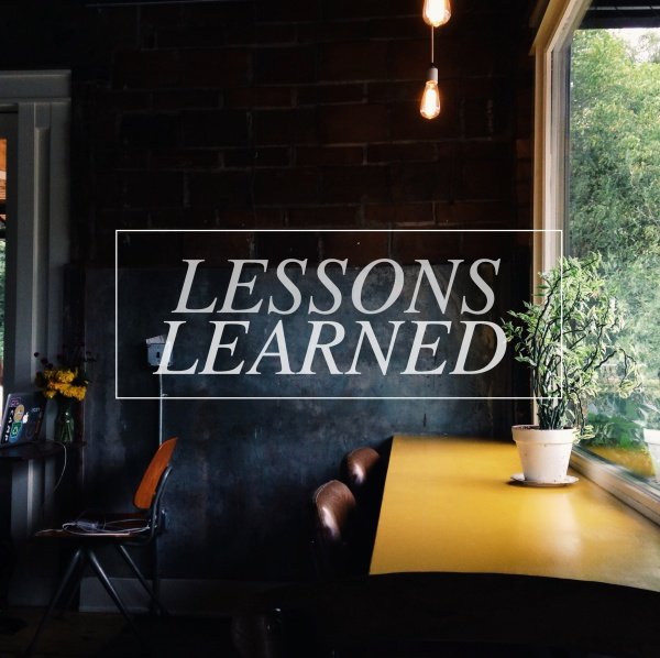 lessons learned advice