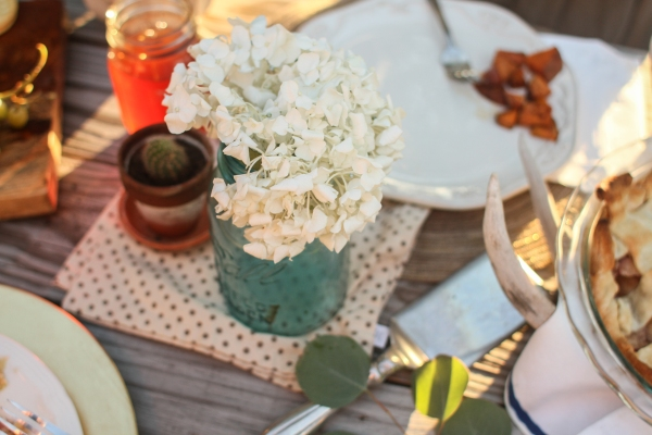Fall dinner party