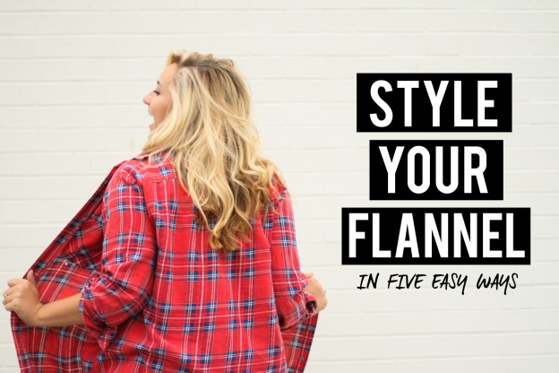 5 Ways to Style your Flannel Fall style