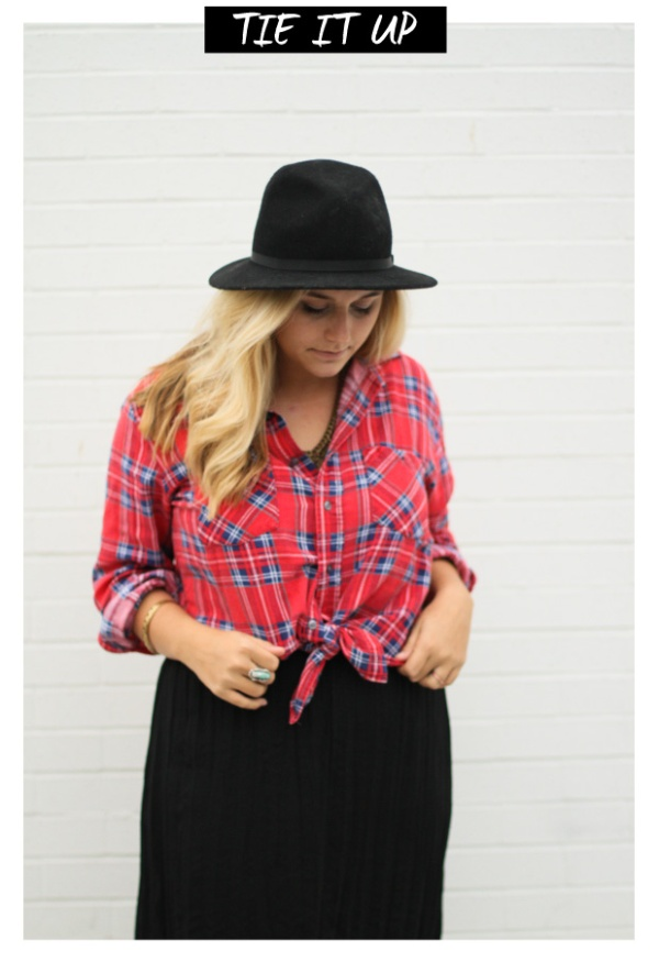 5 Ways to Style your Flannel - the Colour Journal