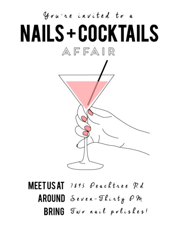 Nails + Cocktails Event - the Colour Journal